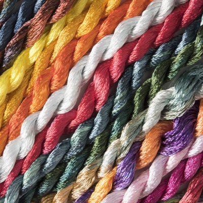 Hand Dyed Rayon Yarns
