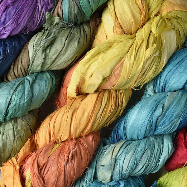 Dyed Indian Ribbon