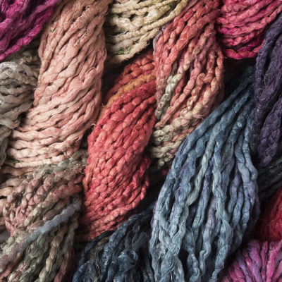 Sari Silk Cord Hand Dyed