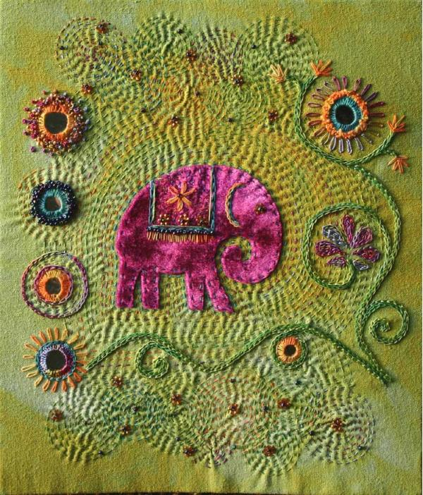 PATTERN Elephant Applique Crochet Pattern PDF Jungle Animal ... | 702x600