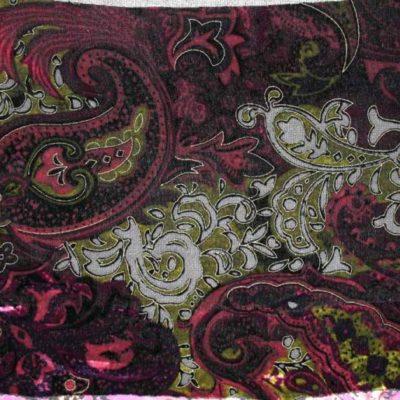 Silk Velvet Devore